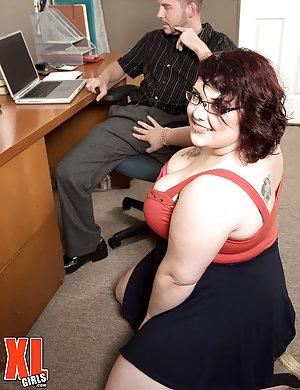 BBW Secretary Pics